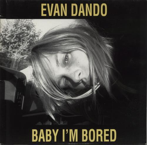 Evan Dando Baby I'm Bored vinyl LP album (LP record) German EVOLPBA236809