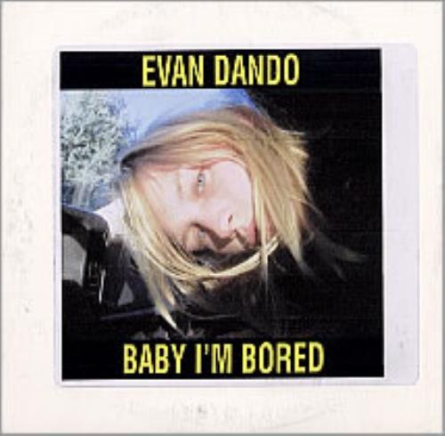 Evan Dando Baby I'm Bored CD album (CDLP) UK EVOCDBA240486