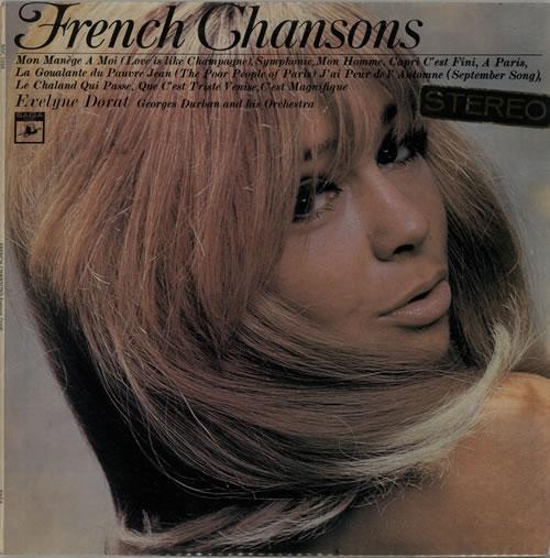 Evelyne Dorat French Chansons vinyl LP album (LP record) UK G6FLPFR629908