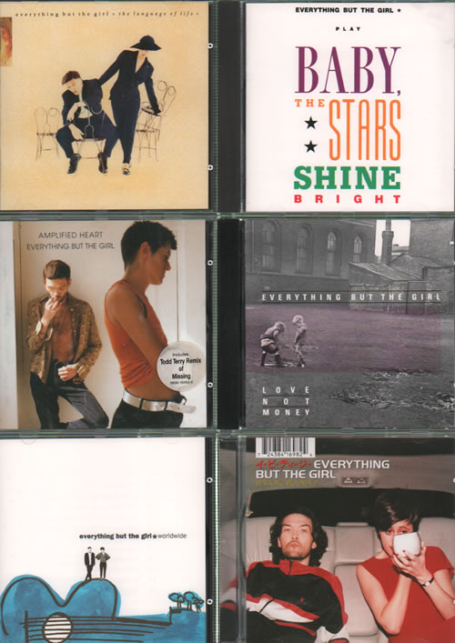 Everything But The Girl Quantity Of 6 Cd Albums Uk Promo Cd Album Cdlp