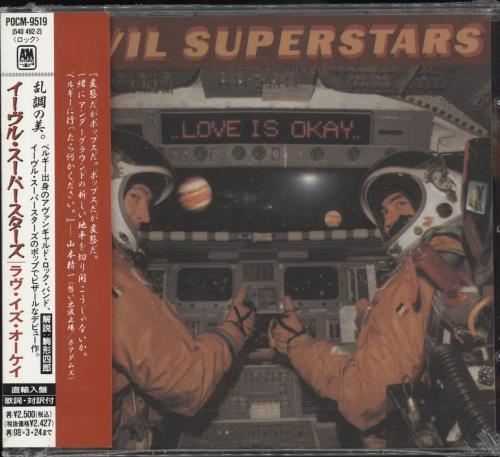 Evil Superstars Love Is Okay Sealed Japanese Promo Cd Album Cdlp 720802