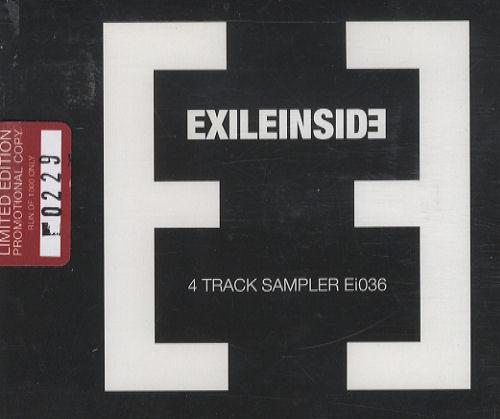 """ExileInside 4 Track Sampler CD single (CD5 / 5"""") UK EXLC5TR278187"""