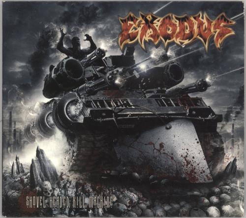Exodus Shovel Headed Kill Machine CD album (CDLP) German EX-CDSH743779