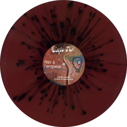 Expo '70 Filer À L'Anglaise - Purple & Black Vinyl vinyl LP album (LP record) UK 1ZYLPFI750902