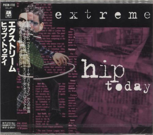 "Extreme Hip Today CD single (CD5 / 5"") Japanese EXTC5HI66730"