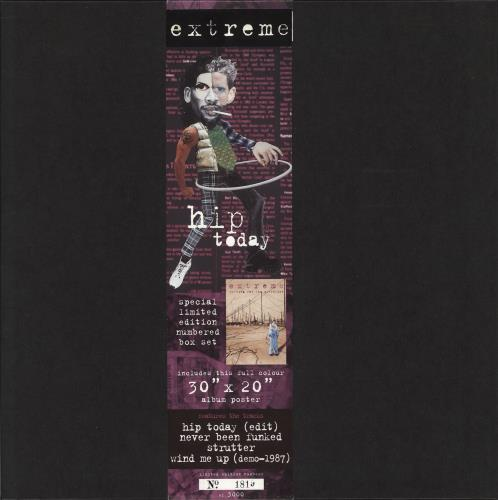 "Extreme Hip Today 12"" vinyl single (12 inch record / Maxi-single) UK EXT12HI709131"