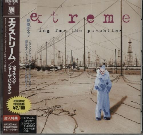 Extreme Waiting For The Punchline CD album (CDLP) Japanese EXTCDWA220709