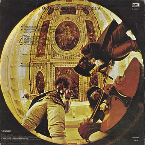 Electric Light Orchestra Orquesta Luz Electrica vinyl LP album (LP record) Mexican ELOLPOR237897