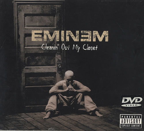 Eminem Cleanin' Out My Closet DVD UK INEDDCL490745