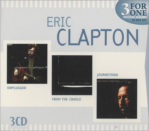 Eric Clapton Eric Clapton 3-CD album set (Triple CD) Australian CLP3CER468683