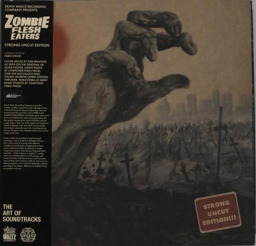 Fabio Frizzi Zombie Flesh Eaters - Strong Uncut Edition - Green Vinyl vinyl LP album (LP record) UK IFBLPZO647855