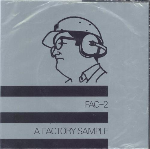 """Factory A Factory Sample - With 4 Stickers 7"""" vinyl single (7 inch record) UK FCY07AF123651"""
