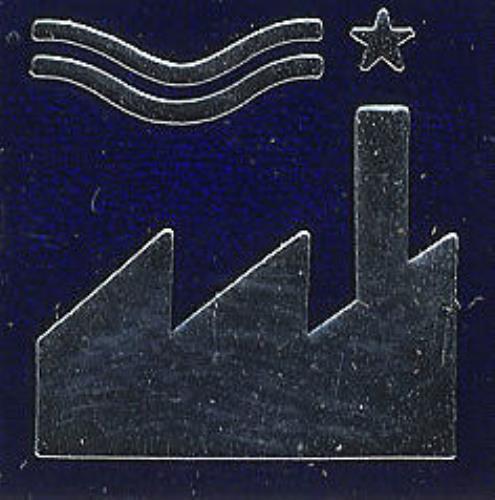 Factory Factory Metal Badge - Blue badge US FCYBGFA407863