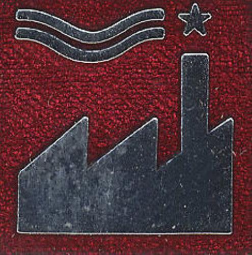Factory Factory Metal Badge - Maroon badge US FCYBGFA407861