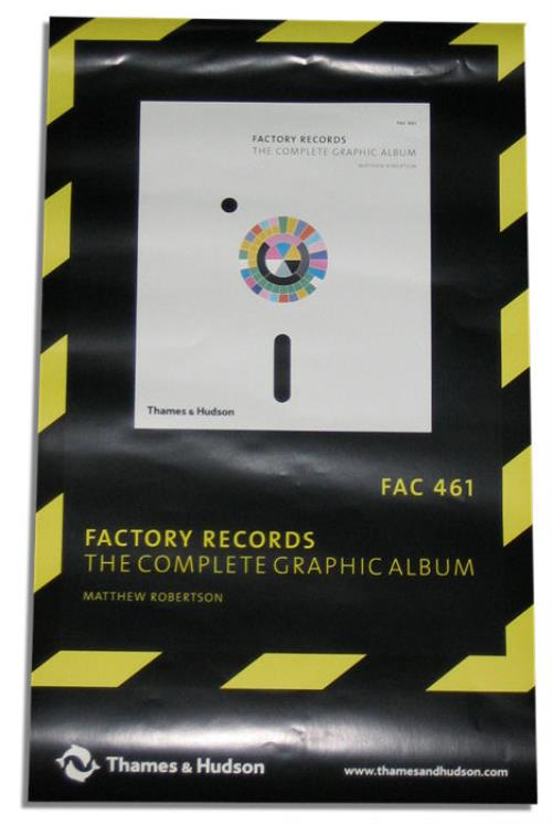 Factory Factory Records - The Complete Graphic Album poster UK FCYPOFA407893