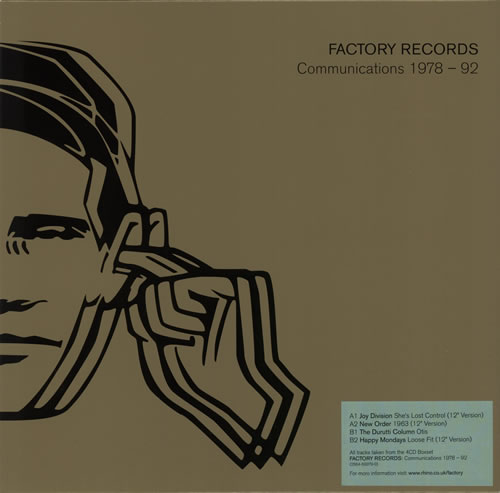 """Factory Factory Records: Communications 1978-1992 10"""" vinyl single (10"""" record) UK FCY10FA584951"""