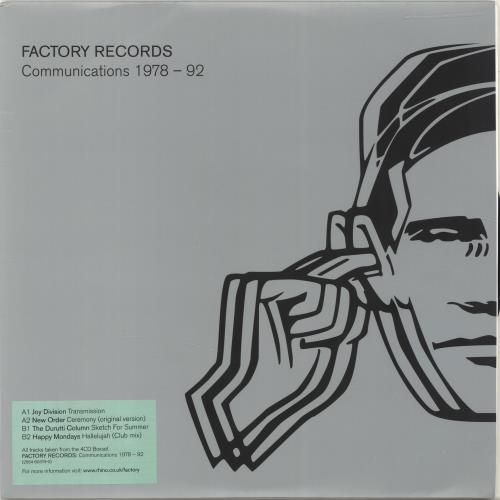 """Factory Factory Records: Communications 1978-1992 10"""" vinyl single (10"""" record) UK FCY10FA689710"""