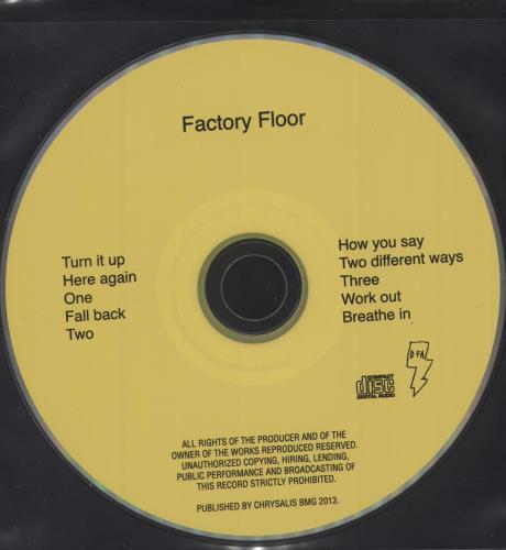 Factory Floor Factory Floor - White Vinyl + CD 2-LP vinyl record set (Double Album) UK H562LFA709002