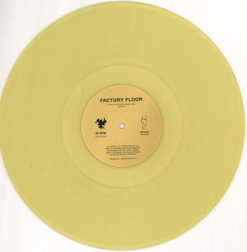 Factory Floor Factory Floor - Yellow Vinyl + Two CDs 2-LP vinyl record set (Double Album) UK H562LFA722276