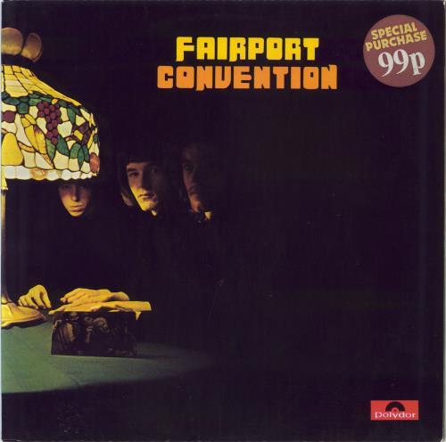 Fairport Convention Fairport Convention - 1st vinyl LP album (LP record) UK F-CLPFA576111