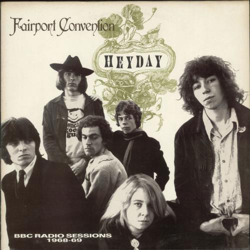Fairport Convention Heyday - EX vinyl LP album (LP record) UK F-CLPHE699613