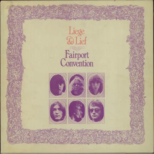 Fairport Convention Liege & Lief - 1st - VG vinyl LP album (LP record) UK F-CLPLI551293