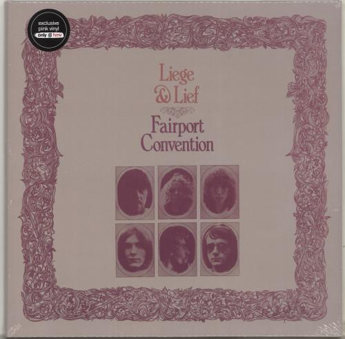 Fairport Convention Liege & Lief - Pink Vinyl - Sealed vinyl LP album (LP record) UK F-CLPLI704254