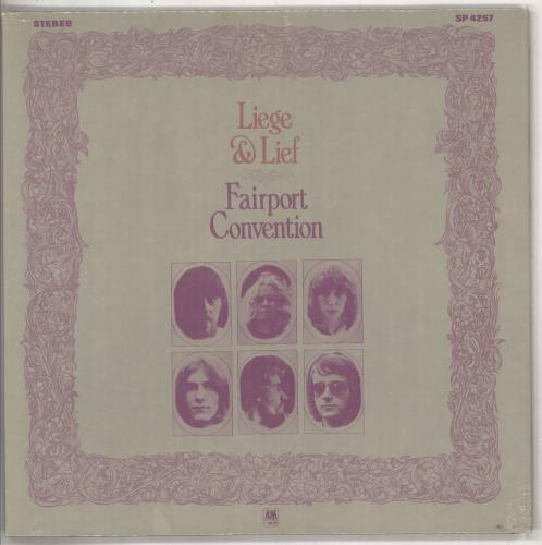 Fairport Convention Liege & Lief - Sealed vinyl LP album (LP record) US F-CLPLI737231