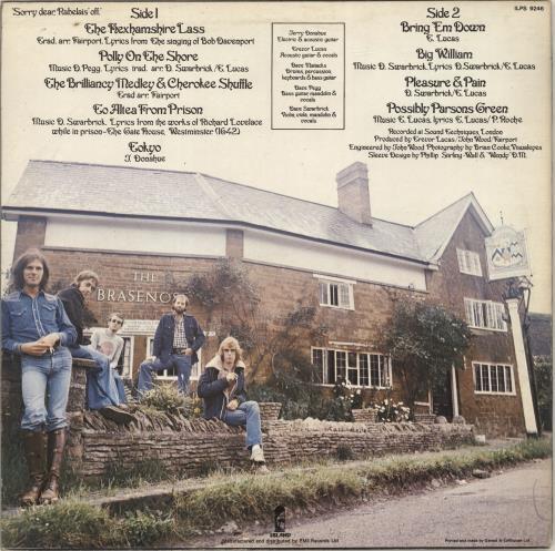Fairport Convention Nine - Blue Label vinyl LP album (LP record) UK F-CLPNI290860