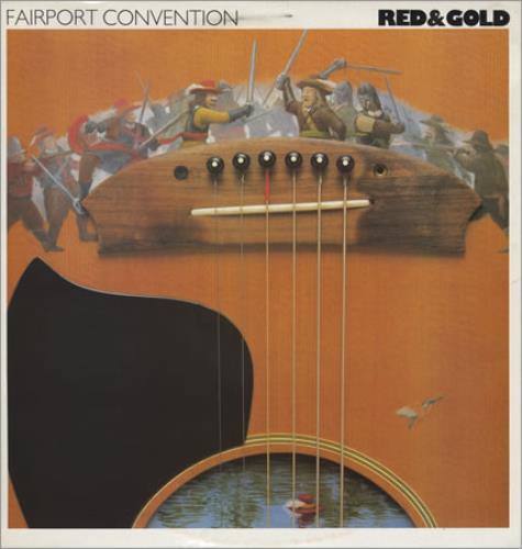 Fairport Convention Red & Gold vinyl LP album (LP record) UK F-CLPRE397850