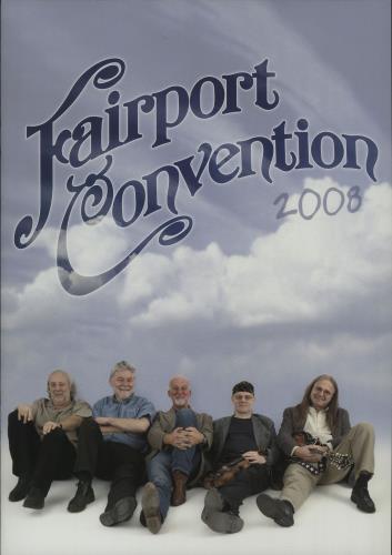 Fairport Convention Winter Tour 2008 + Ticket Stub & Flyer tour programme UK F-CTRWI663347