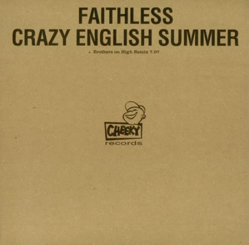 "Faithless Crazy English Summer 12"" vinyl single (12 inch record / Maxi-single) UK FTL12CR222872"