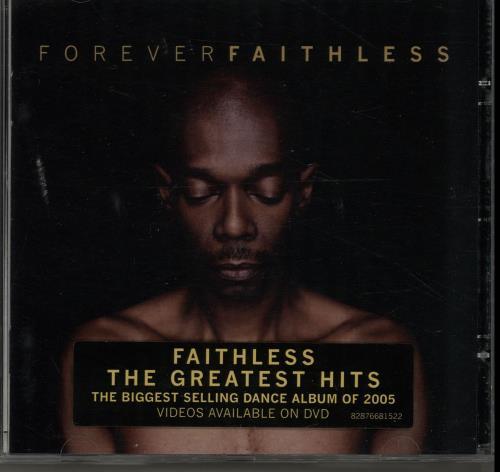 Faithless Forever Faithless CD album (CDLP) UK FTLCDFO323599