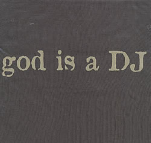 Faithless God Is A DJ UK t-shirt (212964)