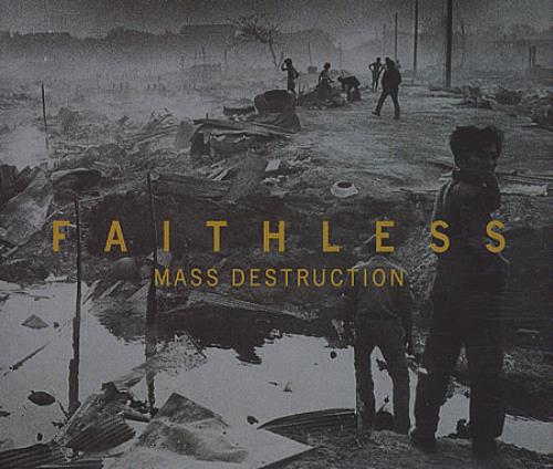 "Faithless Mass Destruction - CD2 CD single (CD5 / 5"") UK FTLC5MA397929"
