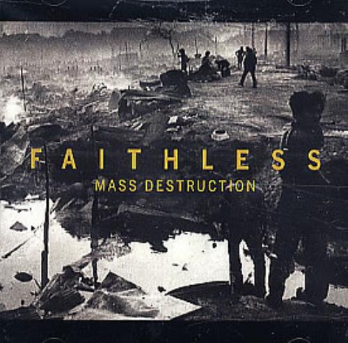 "Faithless Mass Destuction CD single (CD5 / 5"") US FTLC5MA300321"
