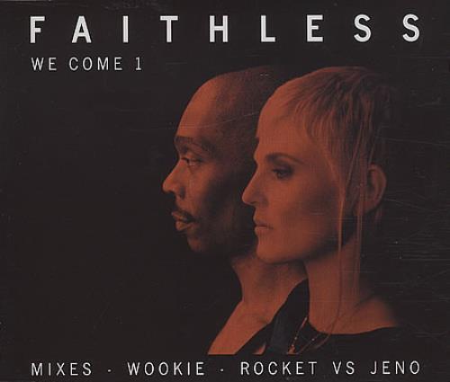 "Faithless We Come 1 CD single (CD5 / 5"") UK FTLC5WE401184"