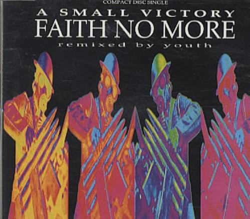 """Faith No More A Small Victory - Remixed By Youth CD single (CD5 / 5"""") UK FNMC5AS97991"""