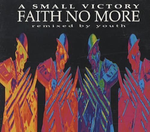 "Faith No More A Small Victory CD single (CD5 / 5"") US FNMC5AS10671"