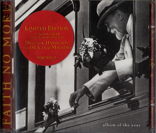 Faith No More Album Of The Year 2 CD album set (Double CD) UK FNM2CAL232043