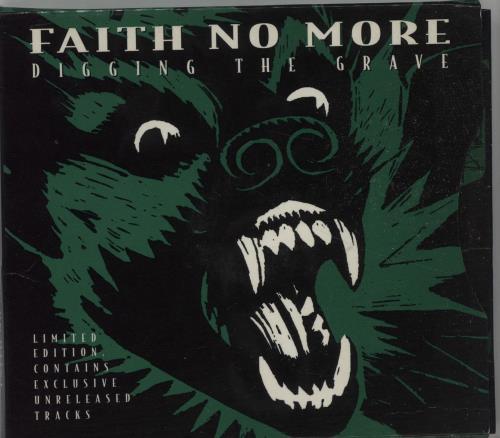 Faith No More Digging The Grave 2 CD Set 2-CD single set (Double CD single) UK FNM2SDI88530