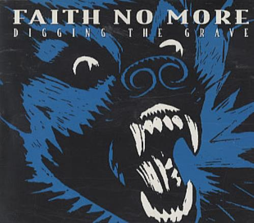 "Faith No More Digging The Grave CD single (CD5 / 5"") UK FNMC5DI114753"