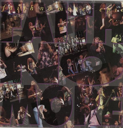 "Faith No More Epic 7"" vinyl single (7 inch record) UK FNM07EP568481"