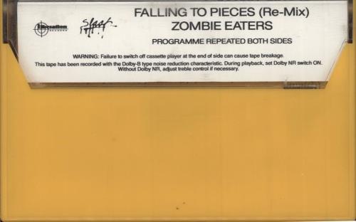 Faith No More Falling To Pieces Re-Mix cassette single Australian FNMCSFA14007