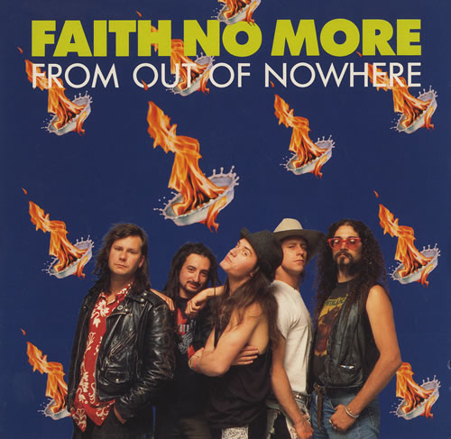 """Faith No More From Out Of Nowhere 7"""" vinyl single (7 inch record) UK FNM07FR88391"""