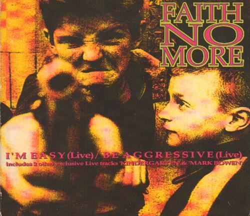 Faith No More I'm Easy - Part 1 & 2 2-CD single set (Double CD single) UK FNM2SIM112524