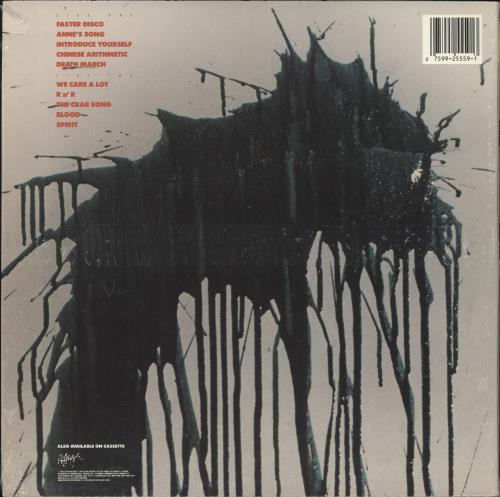 Faith No More Introduce Yourself vinyl LP album (LP record) UK FNMLPIN727166