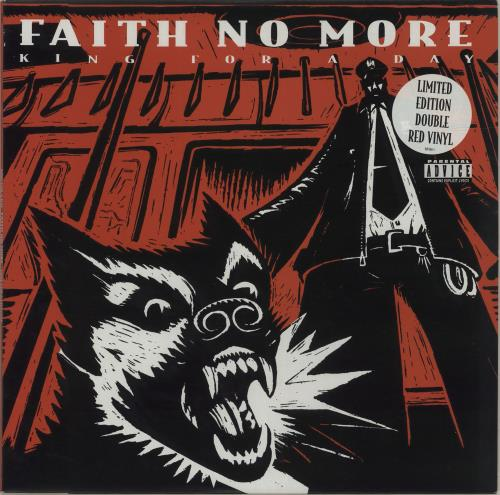 Faith No More King For A Day - Red Vinyl 2-LP vinyl record set (Double Album) UK FNM2LKI195147