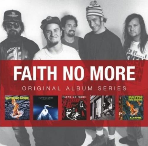 Faith No More Original Album Series 5-CD album set UK FNM5COR532776