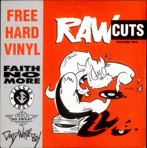 "Faith No More Raw Cuts Volume Two 7"" vinyl single (7 inch record) UK FNM07RA515023"